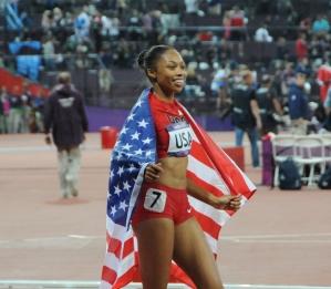 Allyson_Felix_-_4x400_relay_-_2012_Summer_Olympics